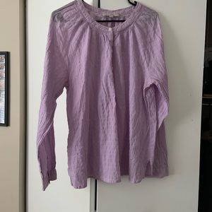 3/$25 Loft Purple Blouse NWOT
